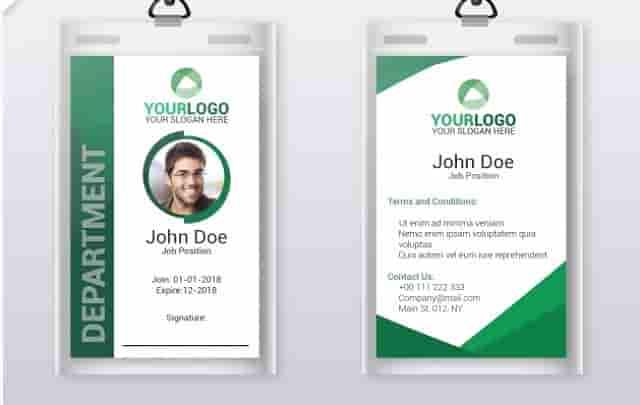 Desain ID Card Online