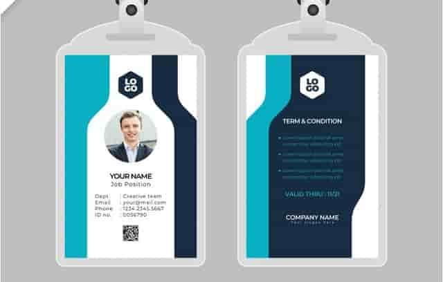 Desain ID Card Panitia 8